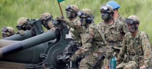 اليابان تنشر  قوات برية في جزيرتين تقعان بين بحر الصين والمحيط الهادئ