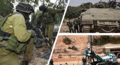 إصابة شابان فلسطينيان بالرصاص المعدني خلال مواجهات مع قوات الاحتلال