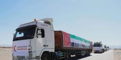 مجهود مُميز لهلال الإمارات في إغاثة المحتاجين بشبوة (فيديوجراف)
