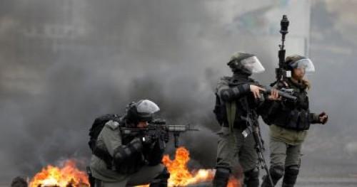 إصابة ثمانية مواطنين فلسطينيين بالرصاص المعدني من بينهم مصور