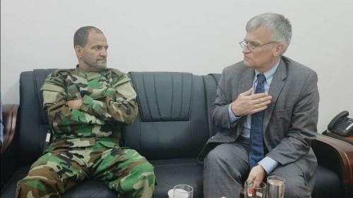 السفير السويدي يشيد بالاستقرار الأمني في العاصمة عدن