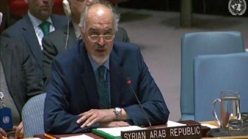 مندوب سوريا بالأمم المتحدة يطالب واشنطن بالتنازل عن جزء من أراضيها لإسرائيل