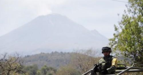 """المكسيك ترفع مستوى التحذير استعدادًا لثوران بركان """"بوبوكاتبتبيل"""""""