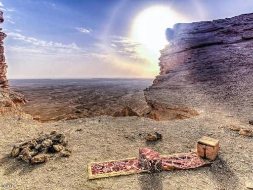 """""""المطل"""" وجهة محبي المغامرة والتصوير بالسعودية"""