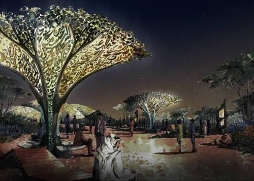 دبي تفتتح حديقة قرآنية مبهرة (فيديو)
