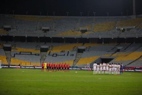 الأمطار تنهي مباراة الأهلي والزمالك بالتعادل السلبي بين الفريقان