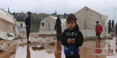 مقتل امرأة وطفل في فيضانات اجتاحت شمالي سوريا