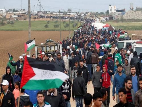 """الاحتلال الإسرائيلي يشيد بتنظيم حماس لمليونية """"العودة"""""""