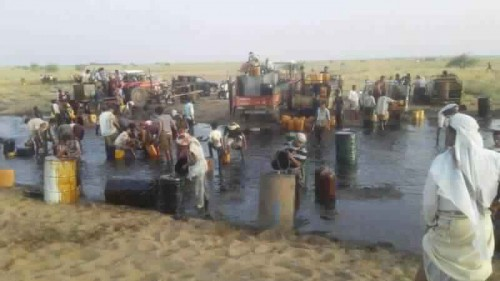 """مليشيات الحوثي تعتدي على أنبوب """"صافر"""" النفطي"""