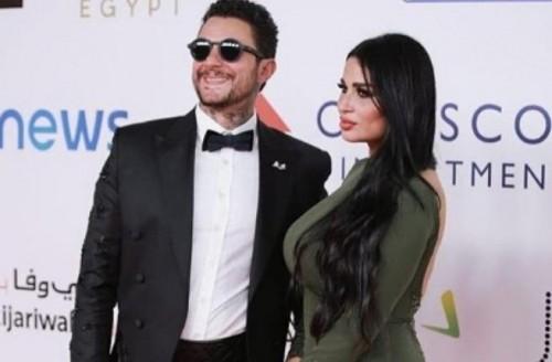 بعد شائعات طلاقهما.. أحمد الفيشاوي يهنئ زوجته ندى الكامل بعيد ميلادها