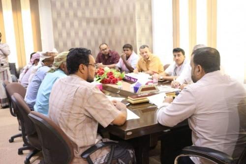 مناقشة المخططات الأولية لمشروع مدينة قشن الجديدة بالمهرة