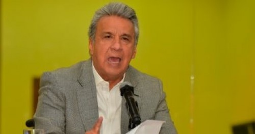رئيس الإكوادور: مؤسس ويكيليكس انتهك شروط لجوئه إلى لندن