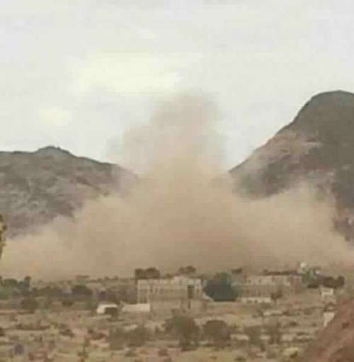 إصابة 5 أطفال جراء قصف حوثي على قرى شمال الضالع