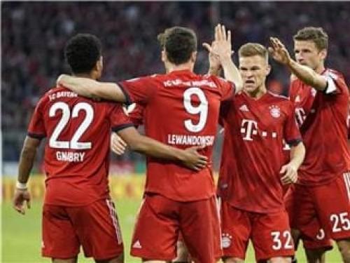 بايرن ميونخ يفوز بخماسية ويتأهل إلى نصف نهائي كأس ألمانيا