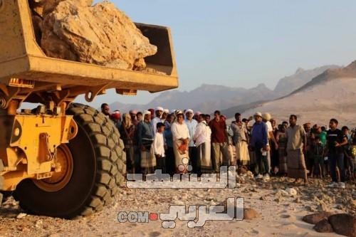 افتتاح أحد أكبر المشاريع الإستراتيجية في سقطرى بدعمٍ إماراتي (صور)