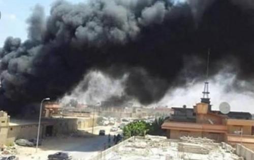 اشتباكات عنيفة في العزيزية قرب طرابلس بين قوات الجيش والمجلس الرئاسي
