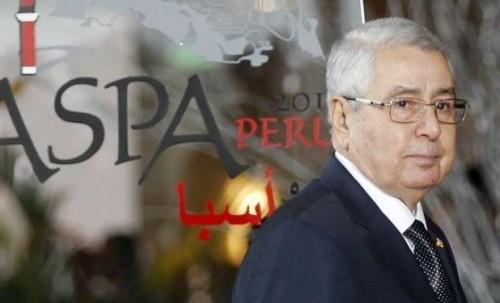 مظاهرات بالجزائر لمطالبة رئيس مجلس الأمة بالرحيل