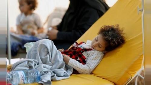 """الحوثي يحصد أرواح الأبرياء بسلاح """"الكوليرا"""" (ملف)"""