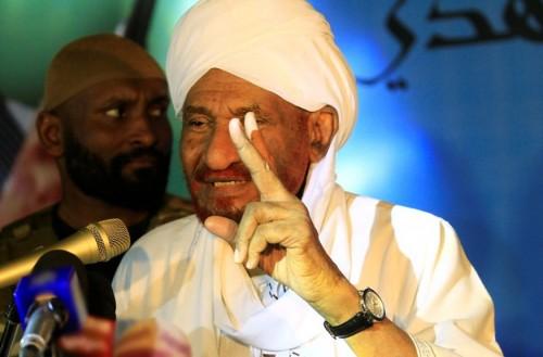 الصادق المهدي يدعو الشعب السوداني لتظاهرات السبت (تفاصيل)