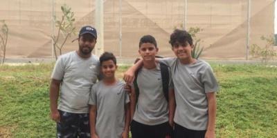 ناشئو اليمن للتنس يحققون المركز الأول في بطولة غرب آسيا