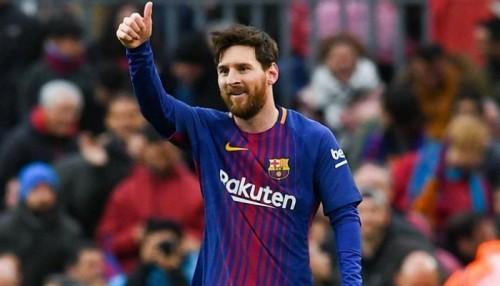 ميسي لاعب الشهر في الدوري الإسباني