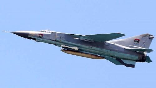 مقاتلات حكومة الوفاق الليبية تقصف مواقع للجيش الوطني بطرابلس