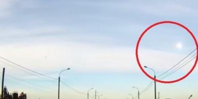 """فيديو يرصد لحظة عبور """"نيزك"""" فوق مدينة روسية"""