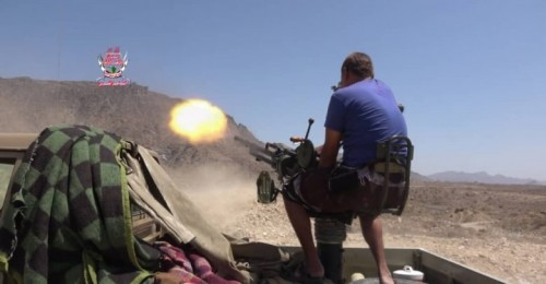 عشرات القتلى والجرحى في صفوف الحوثيين أثناء تصدي العمالقة لهجومهم في تعز