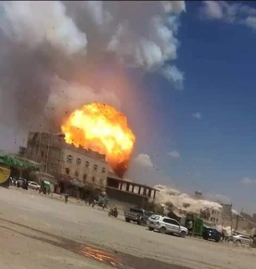 شاهد.. مقطع مصور يثبت عدم قصف التحالف أي حي سكني في صنعاء