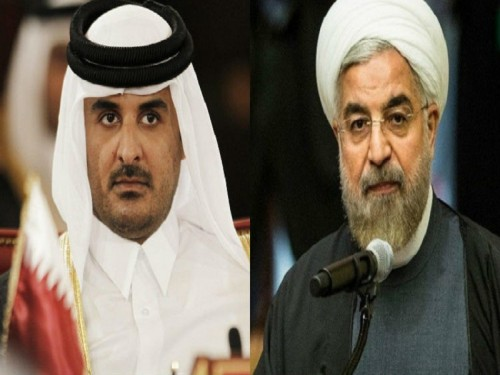 رسمياً.. قطر تتباهى بعلاقتها المشبوهة مع إيران