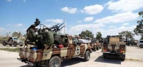 """الجيش الليبي يسيطر على معسكر اليرموك ضمن عملية """"طوفان الكرامة"""""""