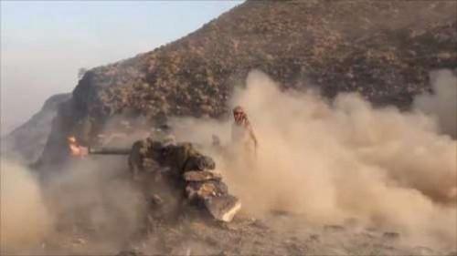بقصف عشوائي.. الصواريخ البالستية تكشف هزائم الحوثي في الضالع