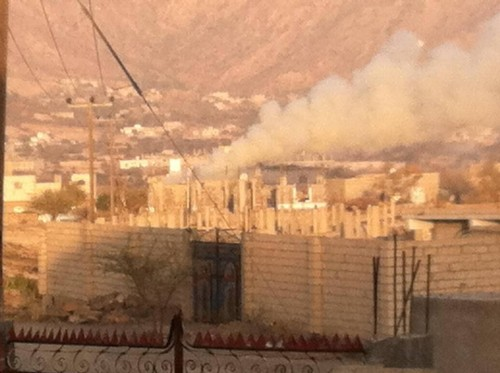 إعلامي: صواريخ الحوثي على الضالع تهدف لإسقاط المدنيين!