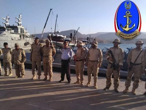 مصلحة خفر السواحل بالمهرة تتسلم ثلاثة زوارق من السعودية