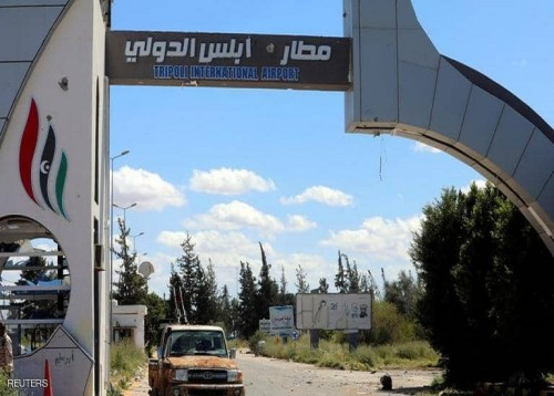 الجيش الليبي يشن غارة جوية جديدة بمطار طرابلس (تفاصيل)