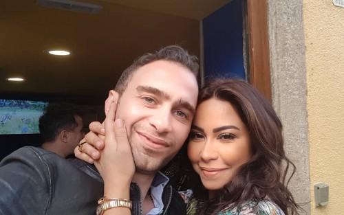 هكذا احتفل حسام حبيب بعيد زواجه الأول من النجمة شيرين