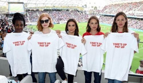 نجمات هوليود يدعمن حركة   Time's Up   المناهضة للتحرش (صور)