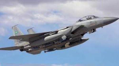 طيران التحالف يدك تجمعات الحوثيين في كتاف وقتلى بصفوف المليشيات