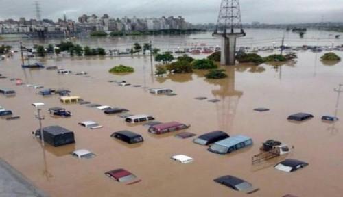 مصرع 3 أشخاص جراء الفيضانات بالبرازيل