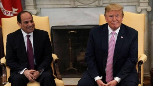 البيت الأبيض.. السيسي وترامب يبحثان الأزمة الليبية وخطر الإخوان