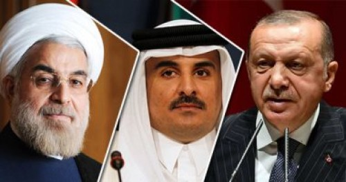 """هاشتاج """" بيان العار من قطر وتركيا """" يشعل مواقع التواصل الاجتماعي"""