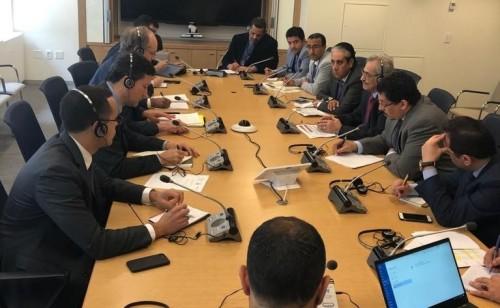 تفاصيل اجتماع البنك المركزي والرئيس الحالي لبعثة صندوق النقد الدولي لدى اليمن