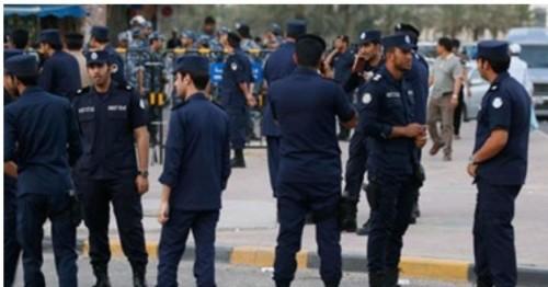 """الداخلية الكويتية  تعتزم اتخاذ إجراءات عقابية لاحد أفرادها بسبب """"احبك"""""""