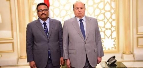 """""""الاسم صالح والشهرة فاسد"""".. جرائم الوزير الجبواني تطعن حكومة هادي (فيديوجراف)"""