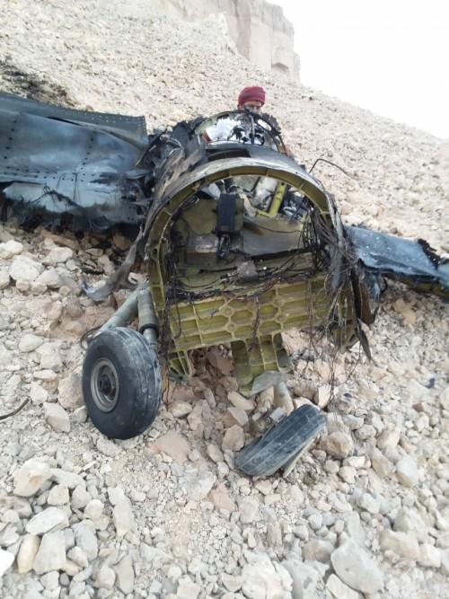 قوات التحالف تسقط طائرة مقاتلة في سماء سيئون
