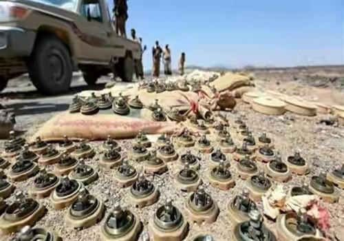 """"""" مسام """" ينزع فتيل الألغام الحوثية.. مقاتلون يطهّرون الأرض ويحفظون الدم"""