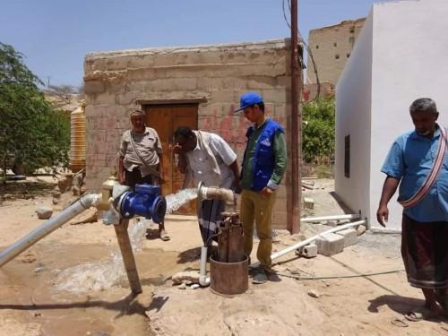 تقديم مولدات جديدة لمشروعي مياه بحبان في شبوة (صور)