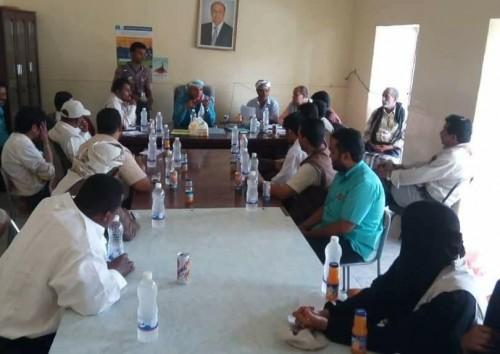 تحركات جديدة للسيطرة على وباء الكوليرا في بيحان بشبوة