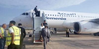 رئيس أركان حرب المنطقة العسكرية الثانية يعود إلى حضرموت بعد رحلة علاجية
