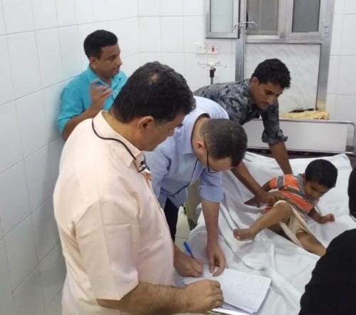 فريق مختص من الإمارات وعدن يشارك في المخيم الجراحي الخيري بمستشفى الشحر